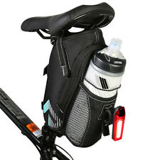 Cycling Bicycle Saddle Bag Pannier Bike Seat Tail Storage Bottle Holder Pouch