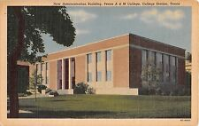 1952 New Administration Building A&M College Texas College Station TX post card