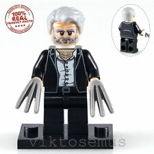 NEW Logan Wolverine Minifig Custom Minifigure Building Toy Lego Compatible