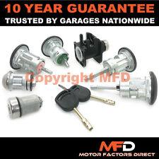 Ford Transit Mk6 2000-2006 Completa 7 Conjunto De Cerradura Puerta Delantero Trasero De Encendido + 2 Llaves