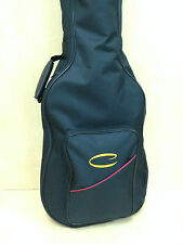"""Caraya 5mm Padded Soft Case for 39"""" Classical Guitar, Black w/Back Pack Straps"""