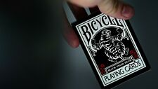 2 pack Ellusionist Black Tiger Deck - Red pip Bicycle Playing Cards Magic Trick
