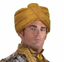 Maharaji Turban Indian Costume Gypsy Fortune Teller Costume Accessory Adult Size