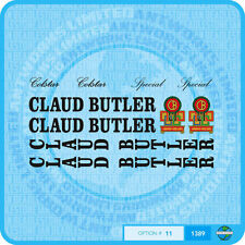 Claud Butler - Colstar - Special - Bicycle Decals Transfers Stickers - Set 11