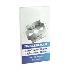 Tweezerman Corn Callus Shaver Blades 100ct