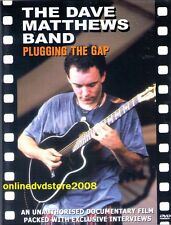 The DAVE MATTHEWS BAND - PLUGGING THE GAP - Music Documentary Film DVD NEW