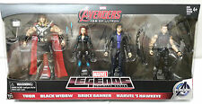 MARVEL LEGENDS AMAZON EXCLUSIVE AVENGERS THOR BLACK WIDOW BRUCE BANNER HAWKEYE