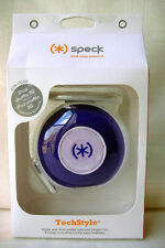 Speck In-Ear Buds Headphones Carrying Case for iPod Shuffle & Nano 6G PURPLE
