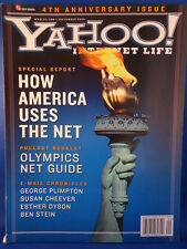 YAHOO! INTERNET LIFE Magazine SEPTEMBER 2000  AMERICA - NET  Vintage Issue RARE!