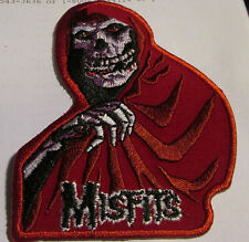 MISFITS COLLECTABLE RARE VINTAGE PATCH EMBROIDED  METAL LIVE DANZIG
