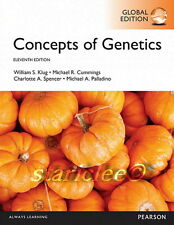 NEW 3 Days 2 AUS Concepts of Genetics 11E William S. Klug Cummings 11th Edition