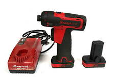 "Snap-On CTS761 1/4"" Cordless Driver With Two Batteries and Charger Free Shipping"
