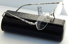 JUDITH LEIBER WHITE GOLD PLATED READING GLASSES +1.50 NEW JAPAN AUTHENTIC