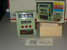 RARE Vintage Electric Cordless Full Automatic SLOT MACHINE by WACO,  WORKS