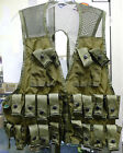 US MILITARY AMMUNITION CARRYING GRENADE VEST 80S STYLE OLIVE DRAB SM MED LG NEW