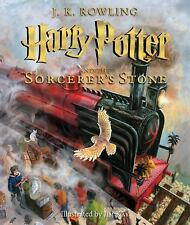 Harry Potter and the Sorcerer's Stone: The Illustrated Edition Hardcover Book 1