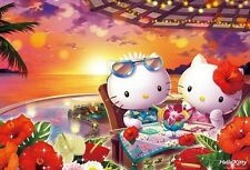 Jigsaw Puzzle 1000 Pieces Sanrio Hello Kitty Tropical Sunset Japan F/S