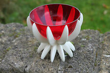 Vintage German Friedel Gesh Plastic Starburst Large Candleholder – Great! –
