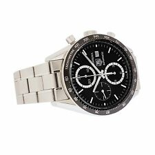 Men's Stainless TAG Heuer Carrera Chronograph, Ref. CV2010-1