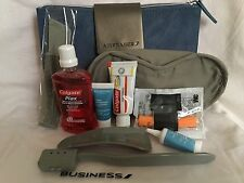 Air France Amenity/Travel Kit- Classe Affaire/Business Class (bag is faux seude)