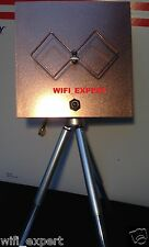 WiFi Antenna Biquad MACH 3B Tripod Wireless Booster Long Range GET FREE INTERNET