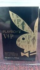PLAYBOY, VIP, EAU DE TOILETTE, SPRAY VAPORISATEUR, 1.7 fl. oz., SEALED BOX