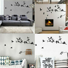 Home Decor Wall Sticker Removable Mural Decal Vinyl Tree Living Room Paper WW-A