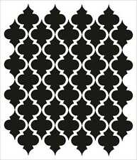 Moroccan Wall Stencil Pattern Classic Home Decor Large scale For crafting