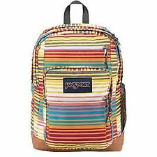 New 100% Authentic JanSport Multi Sunset Stripe Student Laptop Backpack