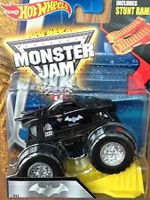 HOT WHEELS MONSTER JAM BATMAN 1:64 STUNT RAMP TRUCK BRAND NEW IN BOX BGG91