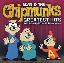 ALVIN & The CHIPMUNKS Greatest Hits ~ CD Brand New Factory Sealed