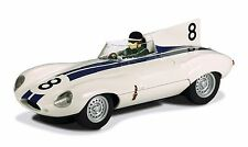 C3308 Scalextric Jaguar D-Type XKD 601 Slot Car Replica, 1:32 Scale