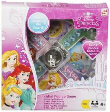 DISNEY PRINCESS MINI POP UP GAME KIDS FUN GIFT TOY DICE PARTY FAMILY OFFICIAL