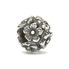 AUTHENTIC TROLLBEAD SILVER ELDERFLOWERS 11529 FIORE DI SAMBUCO