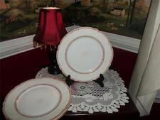 HAVILAND DAVIS COLLAMORE NEW YOK M&C  LOT OF 3 LUNCH PLATES