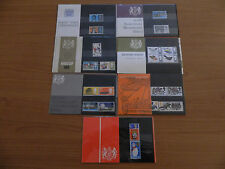 1966 YEAR SET of 7 PRESENTATION PACKS  IN MINT CONDITION