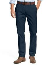 MENS TOMMY HILFIGER TOMMY FLAT FRONT CHINO PANT NAVY - 32 x 30