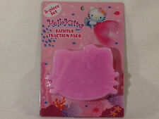 Rare Hello Kitty Bathtub Shower Suction Cup Traction Pads Set, 2002, NEW IN PACK