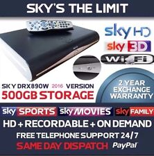 Sky Plus + HD Box DRX890W/WL Built In Wifi, 2016 Model, 500gb, Saturday Delivery