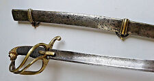 NAPOLEONIC FRENCH BRITISH  CHASSEUR HUSSAR CAVALRY  SWORD  WATERLOO CA 1807