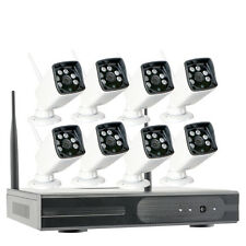 HD1280*960P Outdoor CCTV Home Wireless Security IP Camera System with 8 Cameras