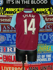 4/5 West Ham United adults XS #14 Shaw football shirt jersey trikot soccer