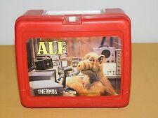 VINTAGE 1987 ALIEN PRODUCTIONS ALF PLASTIC LUNCHBOX
