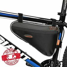 IBERA Bike Triangle Frame Bag, Front Top Tube Cycling Under Seat Pouch IB-FB1-M