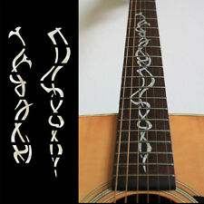 Fretmarkers Gothic Vine Fret Markers Inlay Sticker Decal Guitar