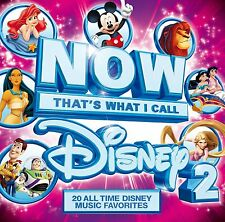 NOW THAT'S WHAT I CALL DISNEY 2 (20 tracks) (CD) Sealed