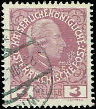 Scott # 112 - 1908 - ' Joseph II '