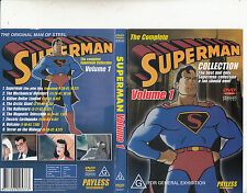 Superman-Volume 1-The Complete Collection-9 Episodes-Animated Superman-DVD
