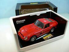Modello di auto BURAGO * FERRARI 250 GTO 1962 * rosso * 1:18 * OVP *