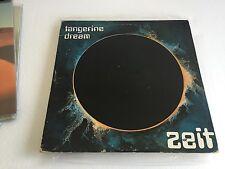 TANGERINE DREAM ZEIT 1976 UK 2LP VIRGIN VD2503 GATEFOLD 1ST MINT/VG